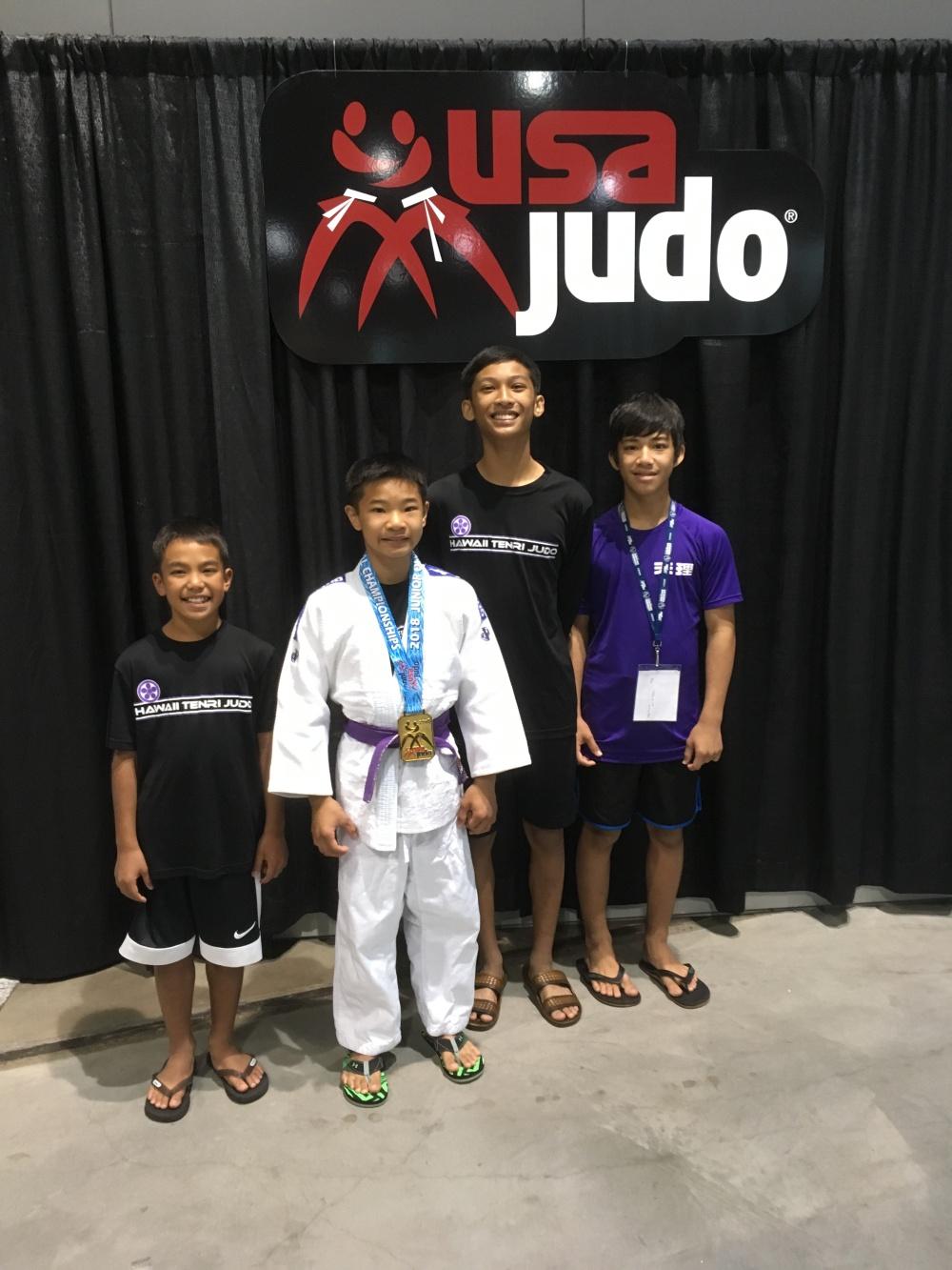 2018 Jr  Olympics Results – Hawaii Tenri Judo